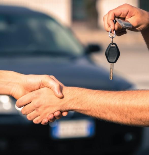 handover car keys