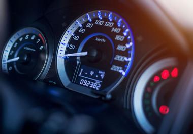 car milometer