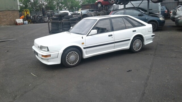 Used 1988 Nissan Bluebird For Sale At Online Auction Raw2k
