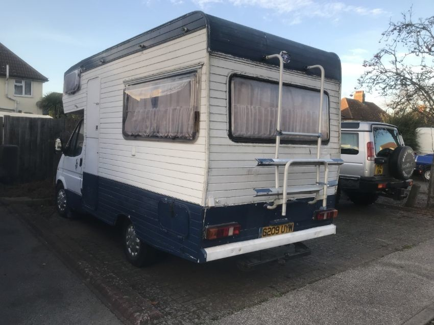 1990 FORD TRANSIT MOTOR HOME
