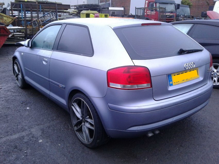 Used 2005 AUDI A3 for sale at online auction   RAW2K