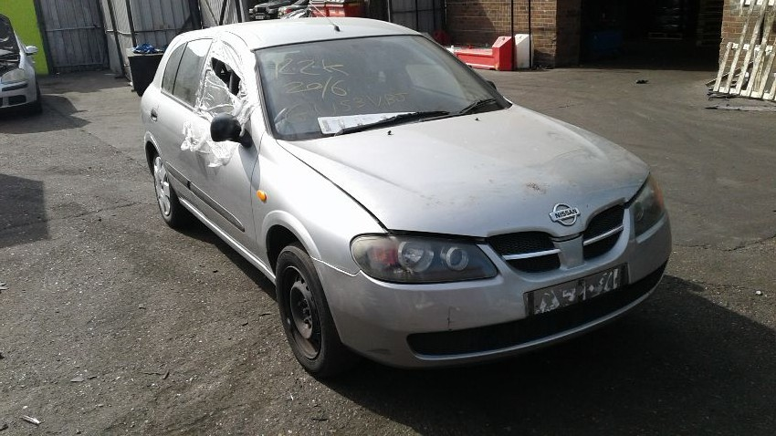 Used 2003 NISSAN ALMERA for sale at online auction | RAW2K