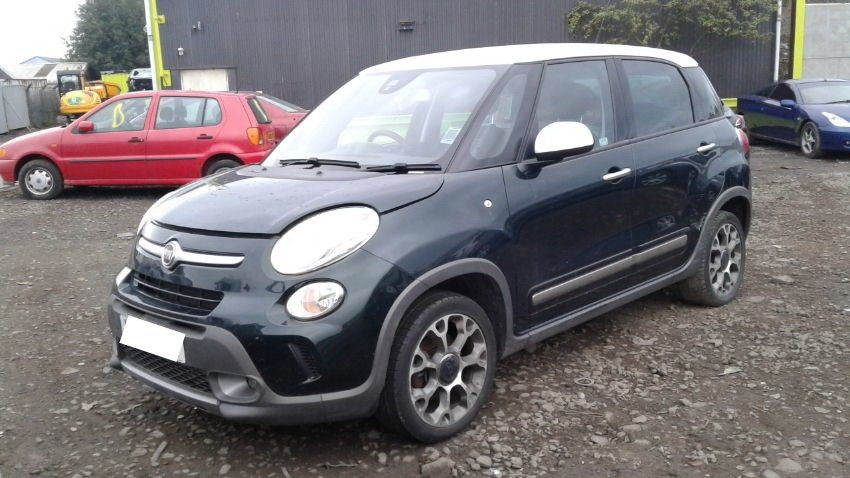 Used 2013 FIAT 500L for sale at online auction | RAW2K