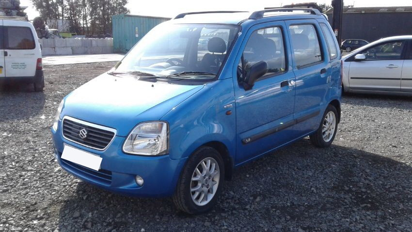 Used 2002 SUZUKI WAGON R+ for sale at online auction | RAW2K