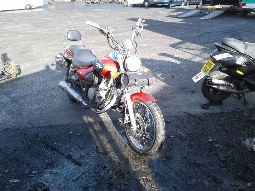 Used 2002 Kawasaki Eliminator 125 For Sale At Online Auction Raw2k