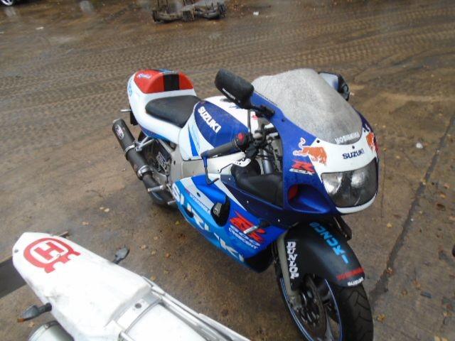 Used 1998 SUZUKI GSXR 600 for sale at online auction | RAW2K