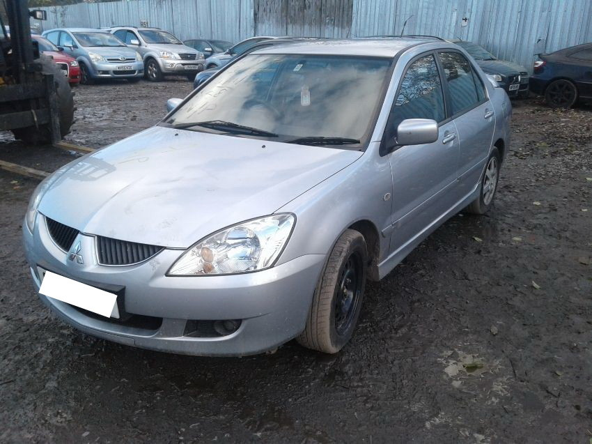 Used 2005 MITSUBISHI LANCER for sale at online auction   RAW2K