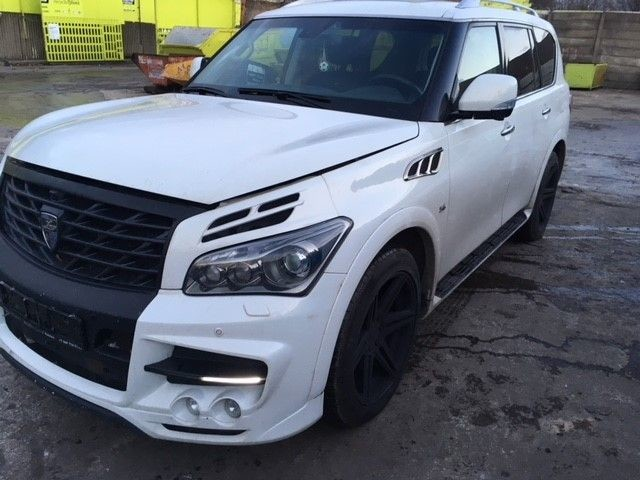 Used INFINITI QX80 for sale at online auction | RAW2K