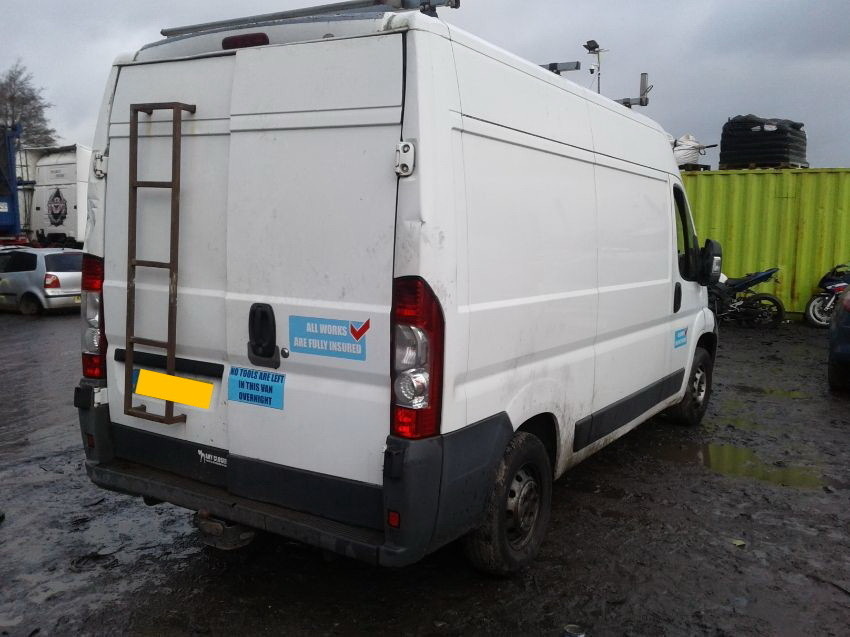 Used 2007 CITROEN RELAY for sale at online auction | RAW2K