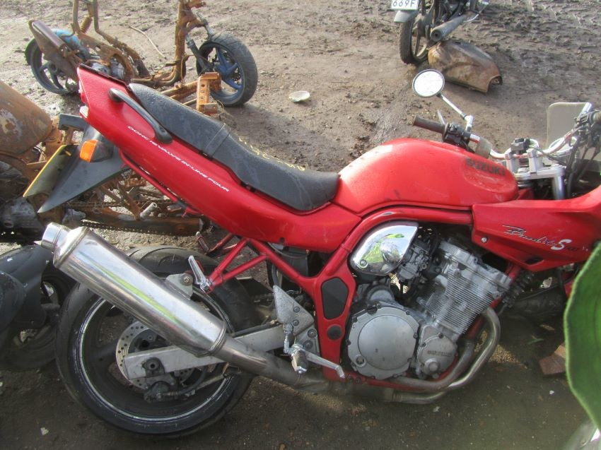 Used 1999 SUZUKI GSF 600 S BANDIT for sale at online auction | RAW2K