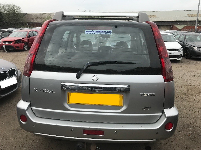 Used 2004 NISSAN X-TRAIL for sale at online auction | RAW2K