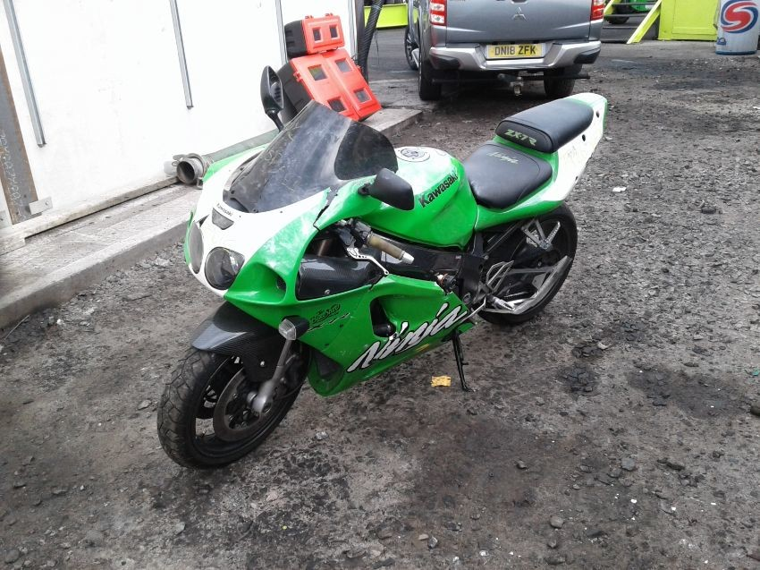 Used 1999 Kawasaki Zx 7r Ninja For Sale At Online Auction