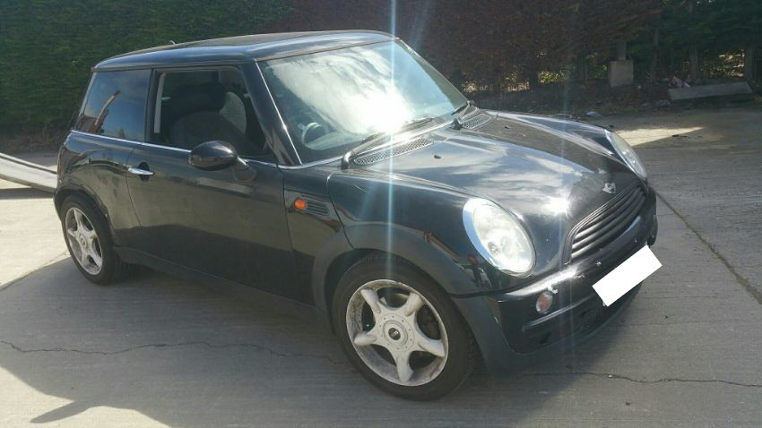 2003 MINI HATCH COOPER 1,598cc