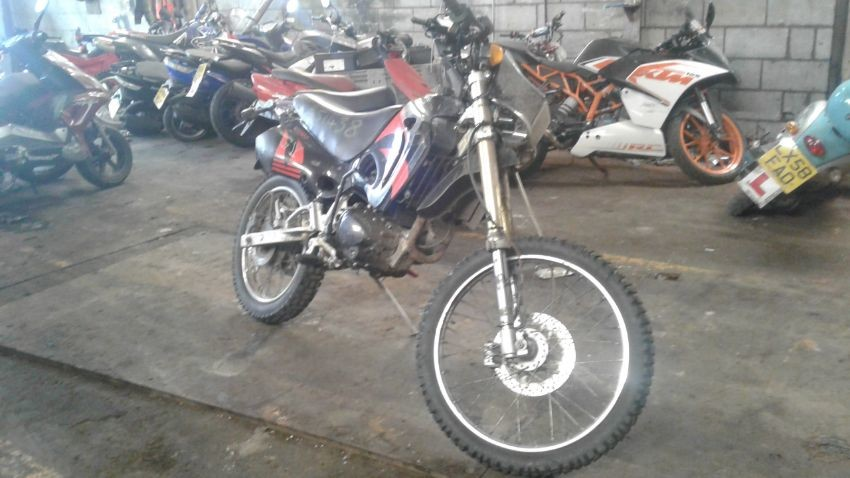 Online Motorcycle Auction   Salvage, Seized & Used