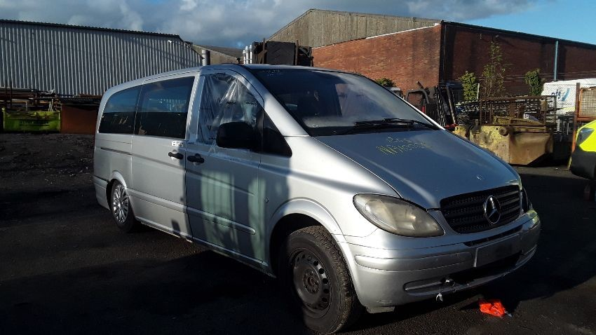 2010 MERCEDES VITO 111 CDI LONG TRAVELINER SWB 2,148cc