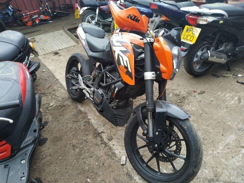 2012 KTM DUKE