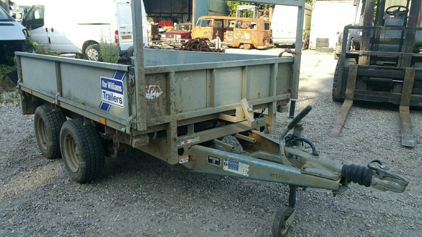 Ifor Williams Twin Axle
