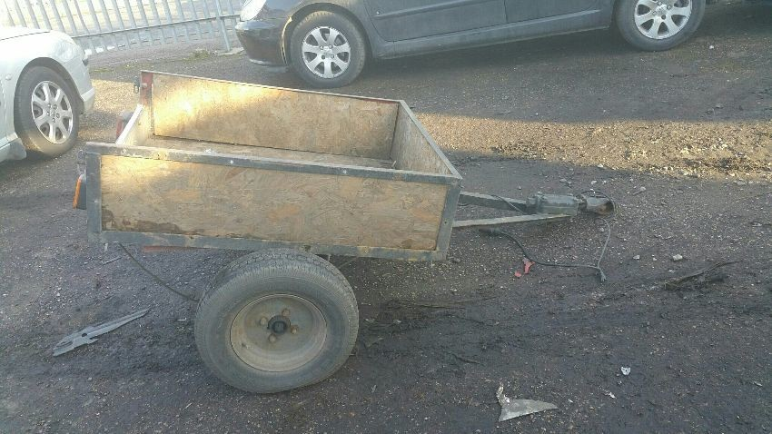 Single Axle TRAILER