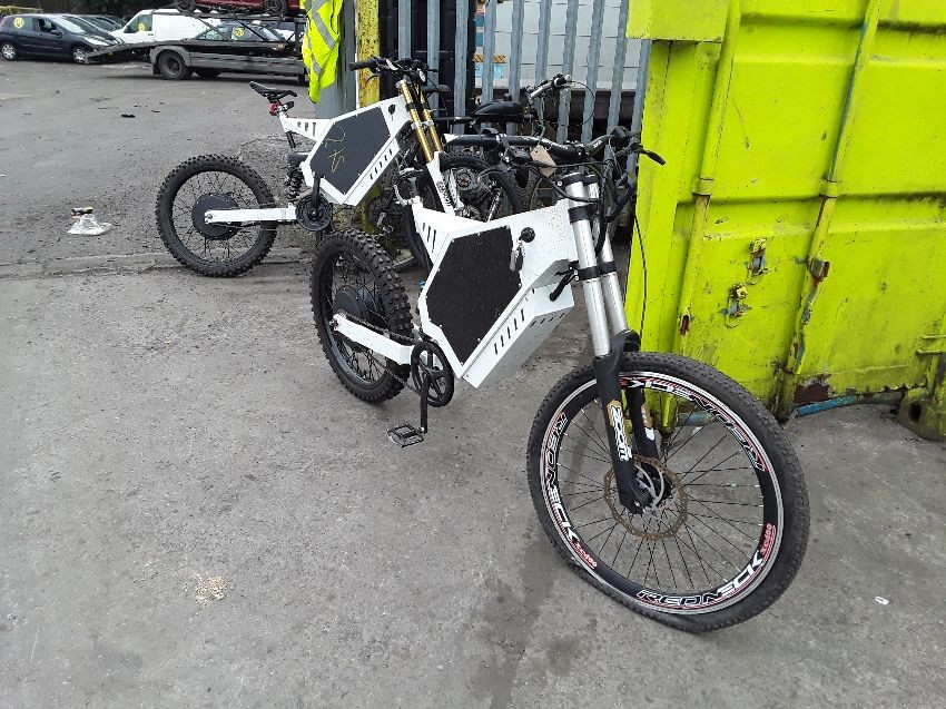 PEDAL CYCLE 2X ELECTRIC BICYCLES