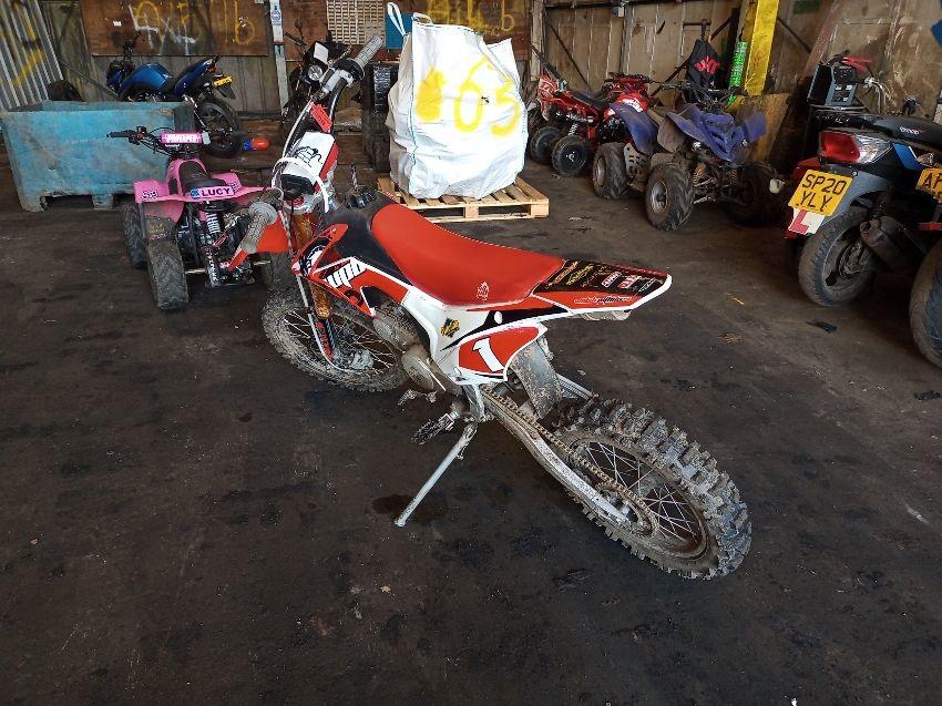 MOTORCYCLE OFF ROAD DIRT BIKE 125